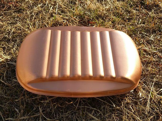 新光金属(新光堂) 純銅製 湯たんぽ 小(1.2L) 背面