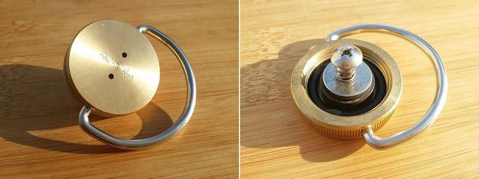 新光金属(新光堂) 純銅製 湯たんぽ の口金