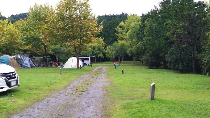 ロマンの森オートキャンプ場 サイト2