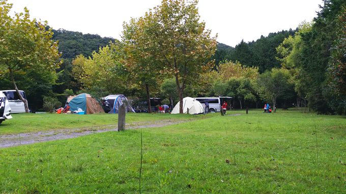 ロマンの森オートキャンプ場 サイト3