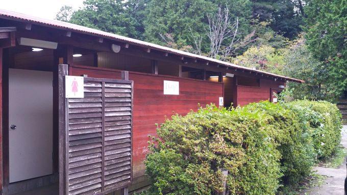 ロマンの森オートキャンプ場 トイレ