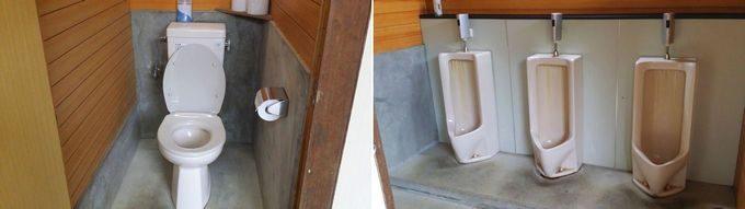 ロマンの森オートキャンプ場 トイレ内