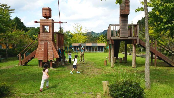 ロマンの森共和国 遊び場