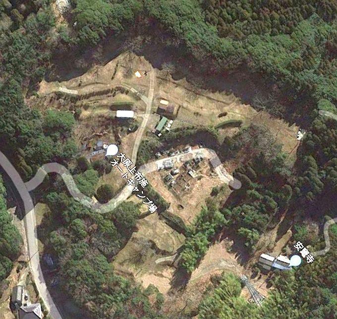 大原上布施オートキャンプ場 Googleマップ