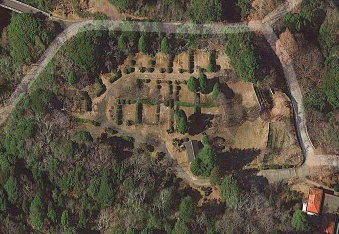 内浦山県民の森 オートキャンプ場 衛星写真