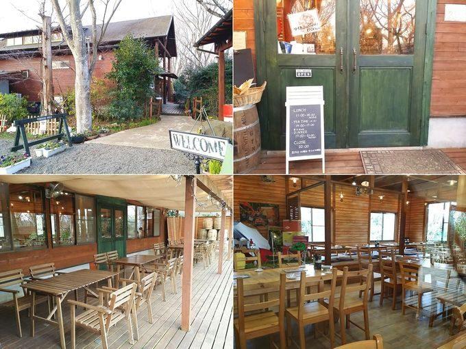 有野実苑オートキャンプ場の農園レストラン