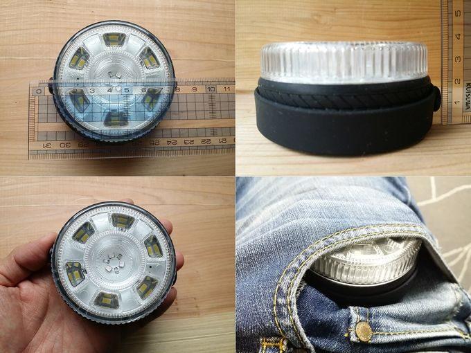 Etekcity ROCO LEDライトのサイズ