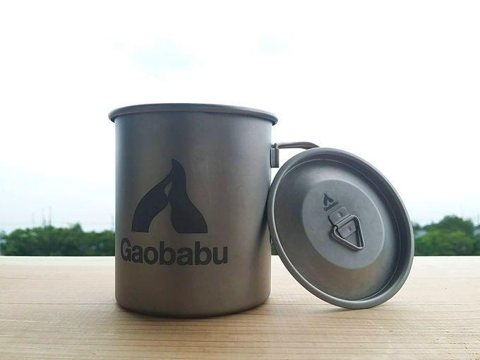 Gaobabu(ガオバブ)のチタンマグカップ