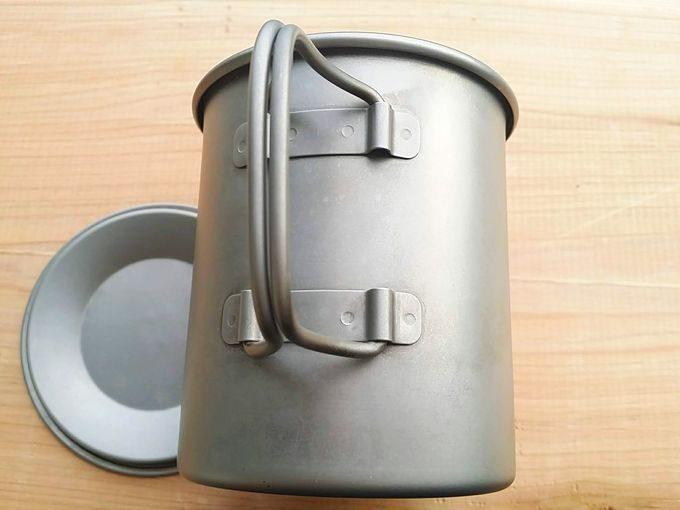 Gaobabu(ガオバブ)チタンマグカップの取っ手