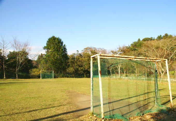 柿山田オートキャンプガーデンのサッカー広場