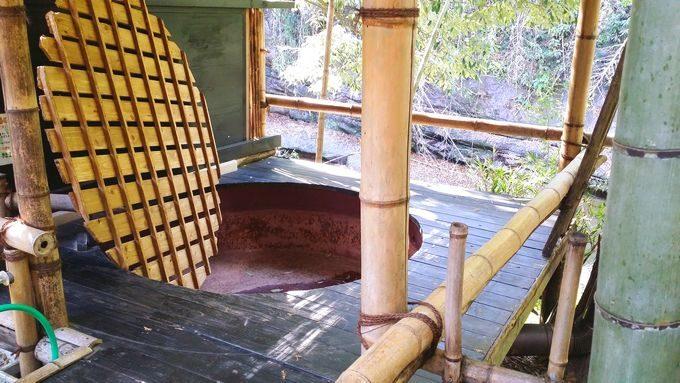 柿山田オートキャンプガーデンの露天風呂