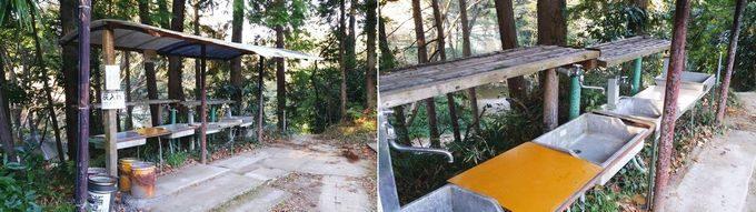 柿山田オートキャンプガーデンのサニタリー 炊事場