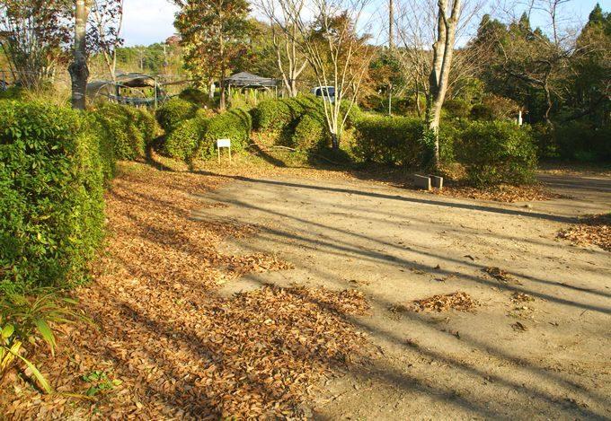 柿山田オートキャンプガーデンのガーデンサイト
