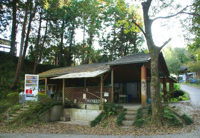 柿山田オートキャンプガーデンの中央のサニタリー