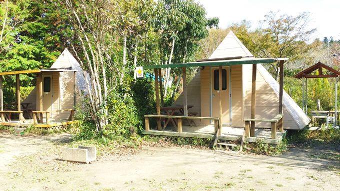 柿山田オー柿山田オートキャンプガーデンのトレイラーハウス