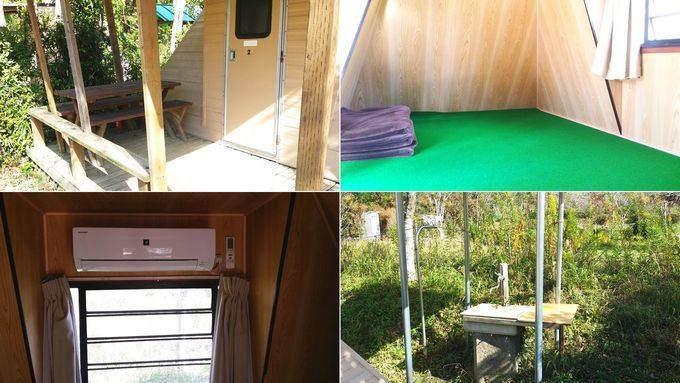 柿山田オー柿山田オートキャンプガーデンのトレイラーハウスの詳細