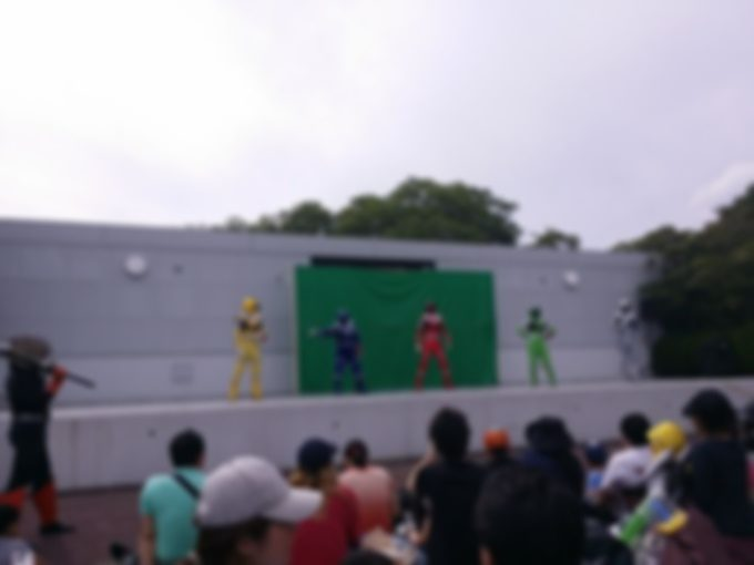 キッズダムの キュウレンジャーショー