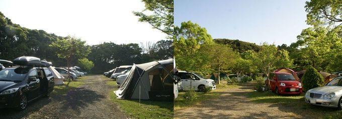 GWのキャンプ場の混雑