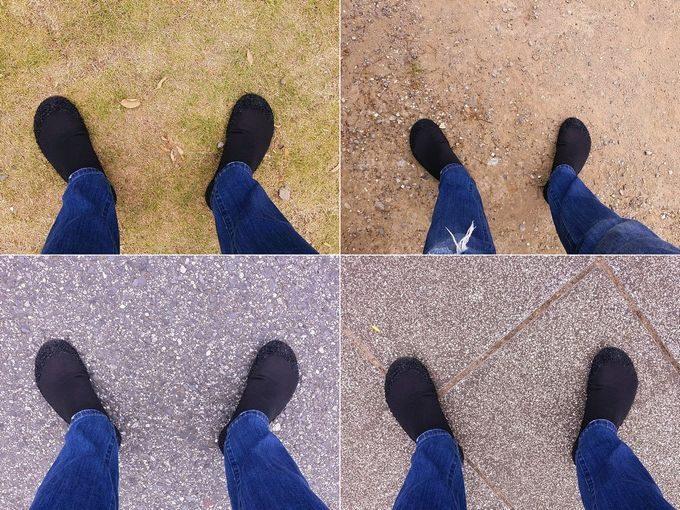 スキナーズ(SKINNERS)は色々な地面を歩ける その1