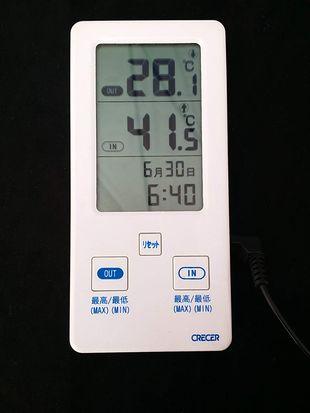 若洲公園キャンプ場の6月下旬のテント内の気温は40℃超え