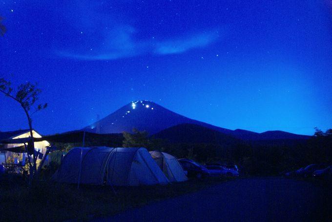 キャンピカ富士ぐりんぱの日の出