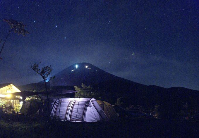 キャンピカ富士ぐりんぱの深夜