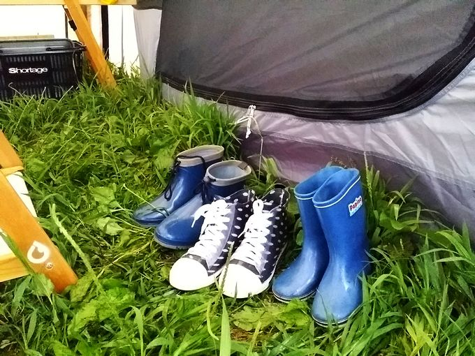 キャンプで使う長靴