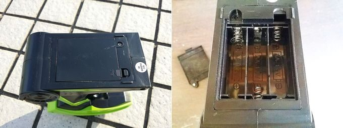 QSEKCHラジコンのバッテリー コントローラーは単3電池