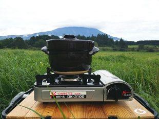 カセットコンロで炊飯
