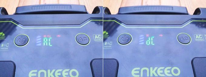 enkeeo s155 のディスプレイ (AC - DC切り替え)