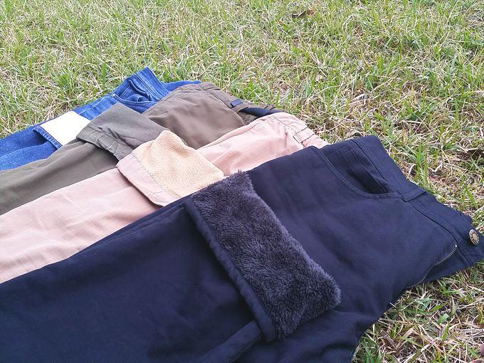 防寒パンツの比較