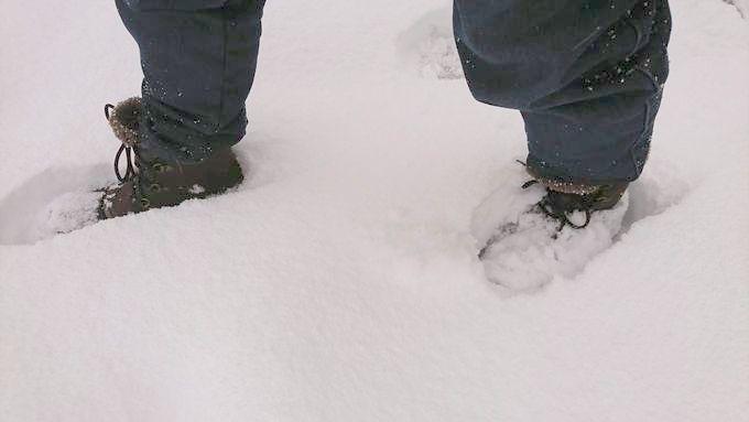 オールキャスト 2 ブーツ は雪でも大丈夫