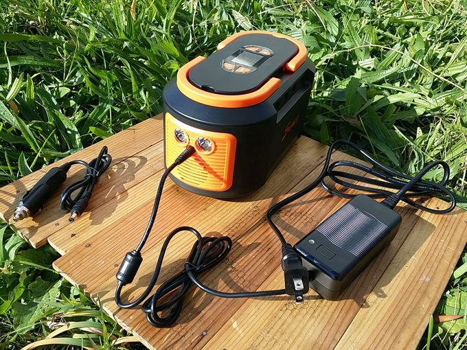 seneo s262 ポータブル電源の充電方法