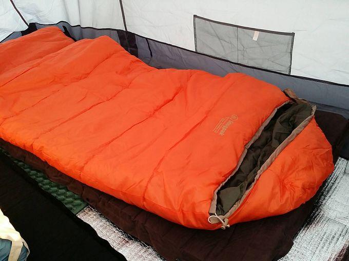 Snugpak(スナグパック) 寝袋 スリーパーエクスペディション スクエア ライトハンドを使用した装備