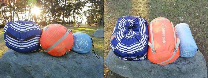 Snugpak(スナグパック) 寝袋 スリーパーエクスペディション スクエア ライトハンド と、コールマンの寝袋、3シーズン寝袋を比較