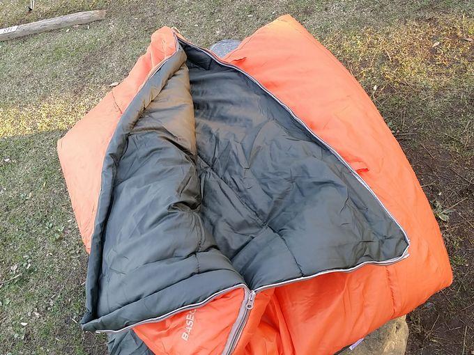 Snugpak(スナグパック) 寝袋 スリーパーエクスペディション スクエア ライトハンド の足側のジッパー