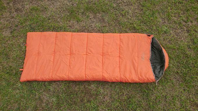 Snugpak(スナグパック) 寝袋 スリーパーエクスペディション スクエア ライトハンド の形状は封筒型