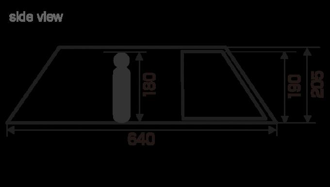 ハイランダーのエアートンネル ROOMY (ルーミィ)のリビングサイズ