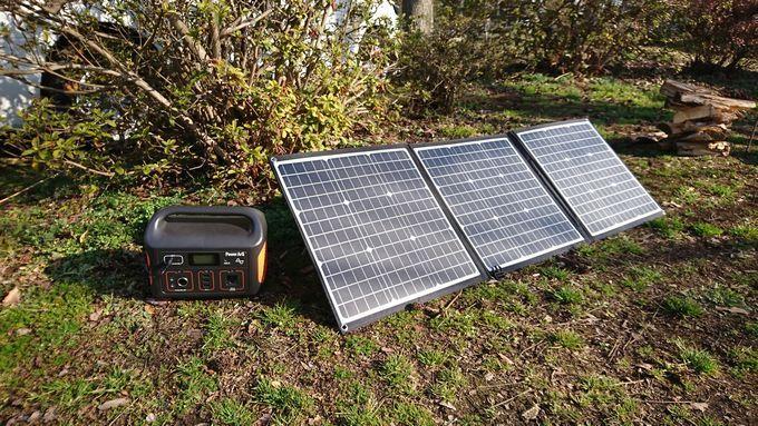 SmartTap PowerArQのソーラーパネルを使って発電