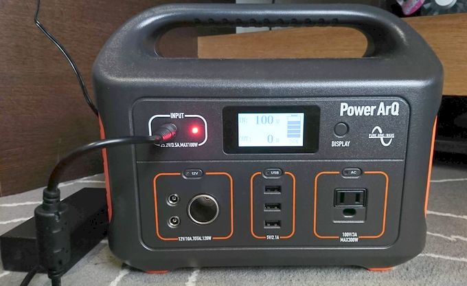 SmartTap PowerArQの充電時間が早い