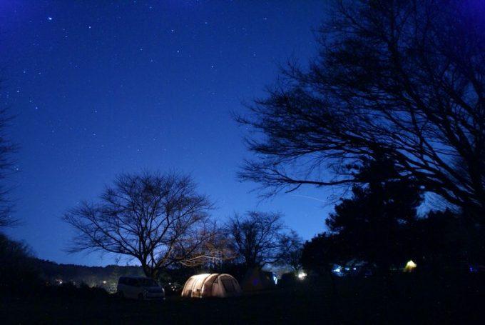 成田ゆめ牧場での星空