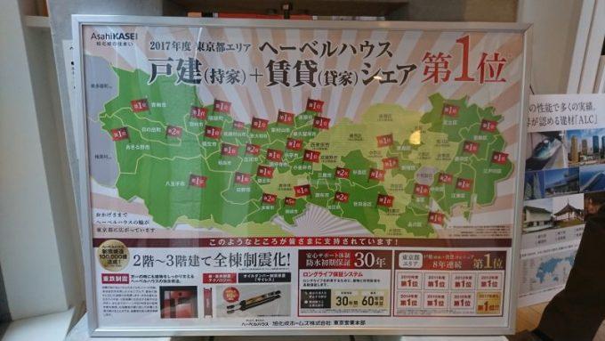 ヘーベルハウスは東京エリアシェアNo.1