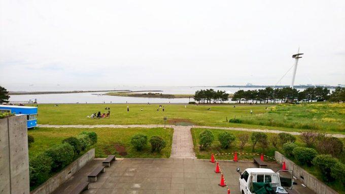 葛西臨海公園の芝生広場