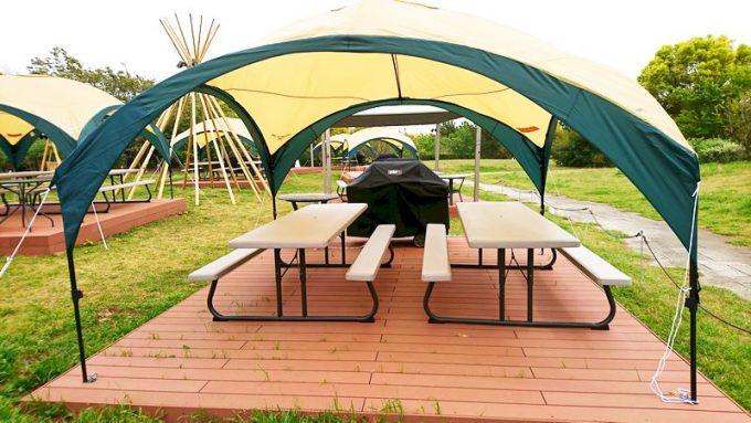葛西臨海公園 SORAMIDO BBQ (ソラミド バーベキュー)のサイト