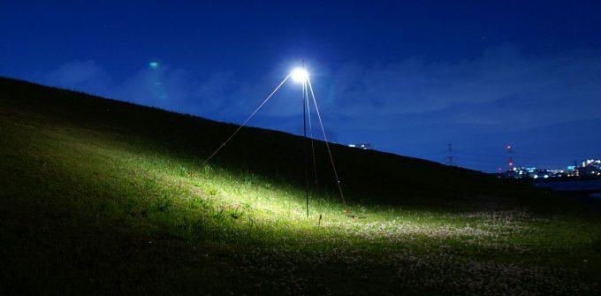 ルーメナー7の電球色・暖色(最大光)