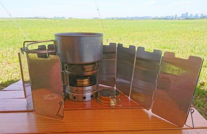 ガオバブ(gaobabu)キャリボ風防とパネル型の風防を使う