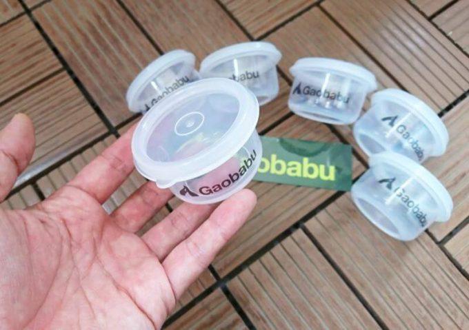 ガオバブ(Gaobabu)の固形燃料ケースのサイズ感