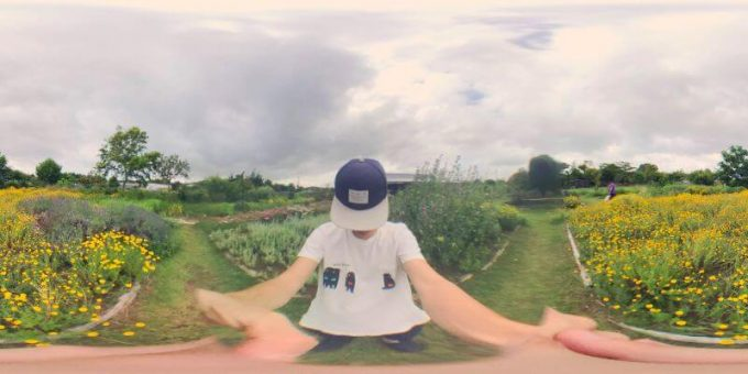 PanoClipのSNAP-ON 360°LENSで撮った写真(ワイド)