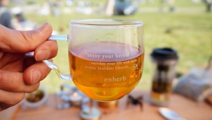 エンハーブ(enherb)のハーブティー「最強のアタシ」を飲む