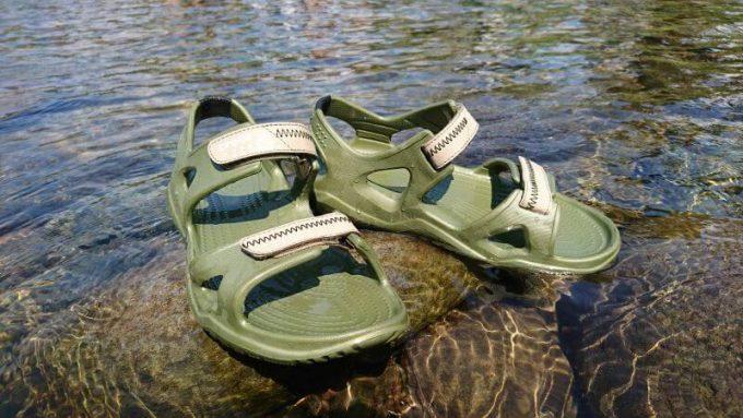 クロックス(crocs)のスウィフトウォーターリバーサンダル